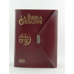 Bibbia di Gerusalemme Edizione Tascabile con bottone