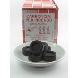 Carbonicini lunga durata 90pz peso 650gr