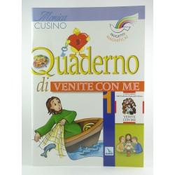 Quaderno Attivo Venite Con Me Vol.1  Progetto Magnificat Elledici