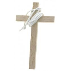 Croce In Legno Chiaro