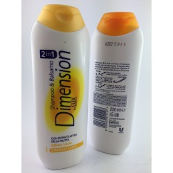 Shampoo e Balsamo Dimension Capelli Lisci 250ml