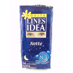 Assorbenti Lines Idea Notte Pz.14