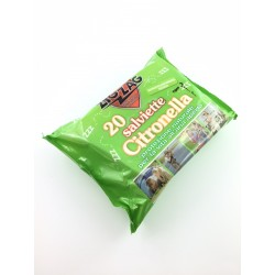 Salviette Contro Gli insetti ZigZag Alla Citronella Pz.20