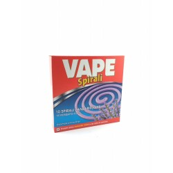 Spirali Zampirone Vape Alla Lavanda Pz.10