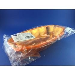 Vassoio Rilavabile In Plastica Rigida Arancione 23x10 Pz.5