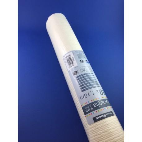Tovaglia Di Carta Goffrata Lunghezza 10 Metri Altezza 118cm Avorio