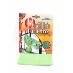 Panno Per Vetri In Microfibra Furbetto 40x40 Pz.1