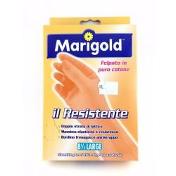 Guanti Felpati Marigold Il Resistente In Lattice Naturale Taglia Large 8,5