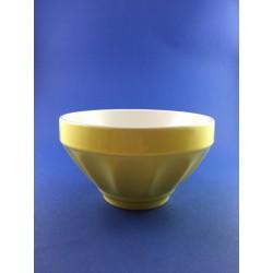 Scodella Costolata Dm.14cm In Ceramica Colorata Impilabile
