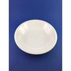 Piatto Fondo Bianco Dm.21cm In Melamina Vivenzi