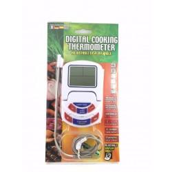 Termometro Timer Con Sonda Per Cottura Cibi