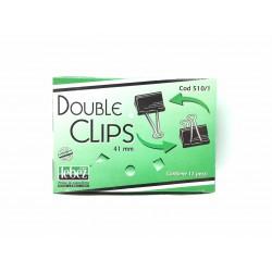 Double Clips Pz.12 mm.41 Lebez