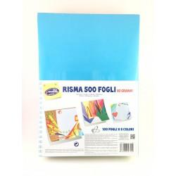 Risma 500 Fogli 80 Grammi 5 Colori Forti