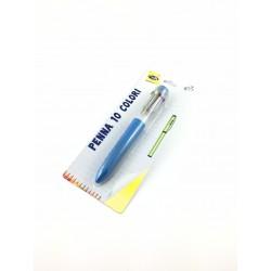 Biro 10 Colori Linea Coccinella