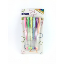 Biro 6 Colori Diversi Golden Hill