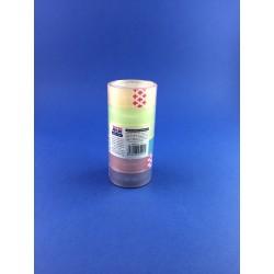 Nastro Adesivo Piccolo Pz.6 Colorato 18mmx13mt