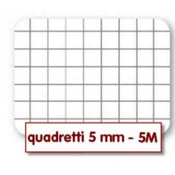 Quadernone a Quadretti 5mm Copertine Assortite