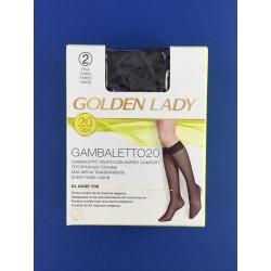Gambaletto Velato Fumo Golden Lady Conf.Da 2 Paia