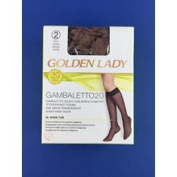 Gambaletto Velato Castoro Golden Lady Conf.Da 2 Paia