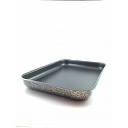 Teglia Per Pizza 35x25 In Alluminio Antiaderente Pengo