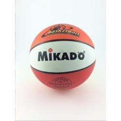 Pallone da Basket Italia, per l'Esterno e l'Interno, Taglia 7, MIKADO SPORT