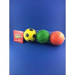 Confezione da 3 Palle Soft Sports, SPORTING TOYS
