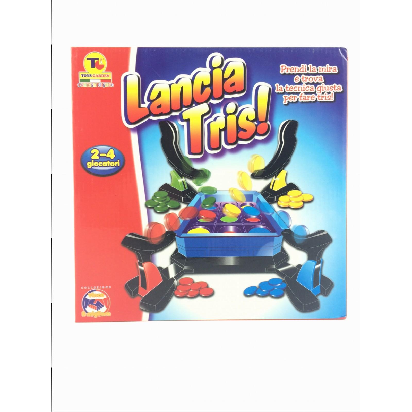 Gioco Da Tavolo Lancia Tris 2 4 Giocatori Toys Garden