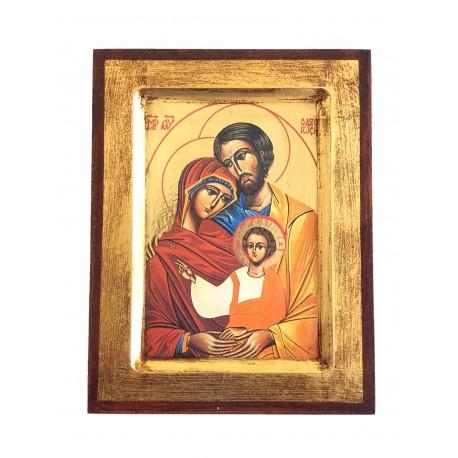 Icona Sacra Famiglia, Stampata, Scavata 6,50 € r003565