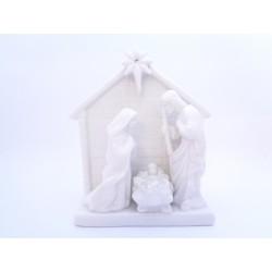 Capanna Natività per Presepe in Ceramica, Festar