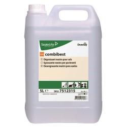 Taski Combibest, Detergente per Pavimenti  Por Formula Diversey, Tanica 5 LT