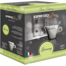 Capsule Espresso Due, Gran Aroma, Confezione da 25 Capsule.
