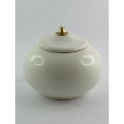 Lucerna in ceramica dipinta