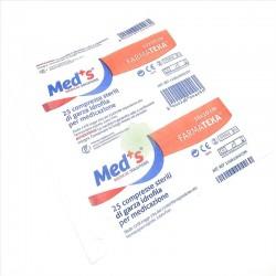 Compresse Sterili di Garza Idrofila 10x10 Conf da 25 Pz