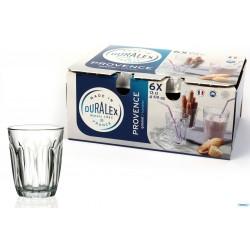 Set di 6 Bicchieri Duralex in Vetro Temprato, Provence 13 Cl