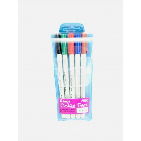 Color Pen Pilot, conf da 6 Colori 0,62 €