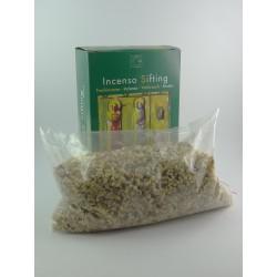 Incenso sifting in grani scatolato Peso:500 gr
