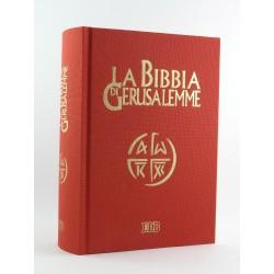 Bibbia di Gerusalemme Edizione Telata Rossa