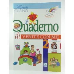 Quaderno Attivo Venite Con Me Vol.2  Progetto Magnificat Elledici