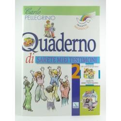 Quaderno Attivo Sarete Miei Testimoni Vol.2  Progetto Magnificat Elledici