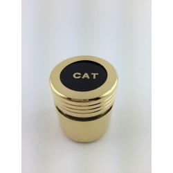 Vasetto (CAT) Corazzato Per Oli Santi Oro