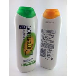 Shampoo e Balsamo Dimension Capelli Grassi 250ml