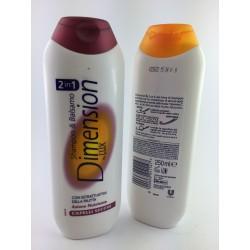 Shampoo e Balsamo Dimension Capelli Secchi 250ml