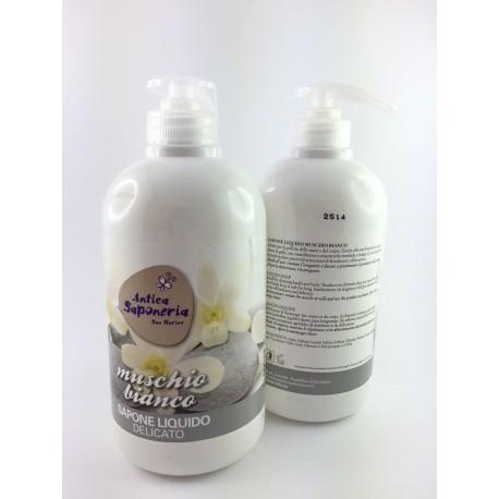 Sapone Liquido Antica Saponeria 500ml Muschio Bianco