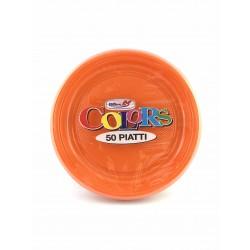 Piatti Frutta Dopla Pz.50 Arancioni
