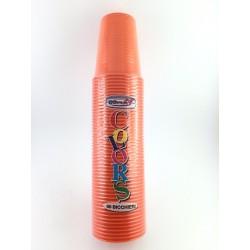 Bicchieri Usa e Getta Dopla Pz.50 Arancioni