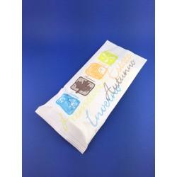 Busta In Carta Portaposate+Tovagliolo 2 Veli 38x38 Con Logo Pz.500