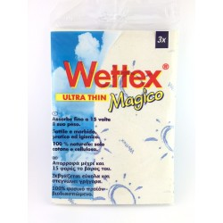 Panno Multiuso Wettex In Cotone e Cellulosa Pz.3