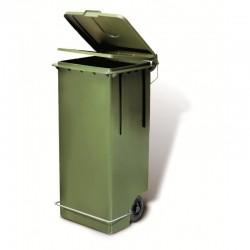 Contenitore Max Litri 100 Con Pedale In Ferro Verde