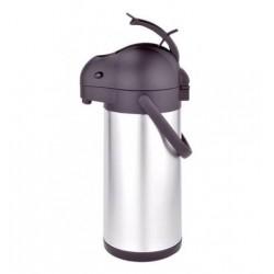 Airpot a Pompa 1,9 Litri In Acciaio Inox Con Dosatore a Rubinetto