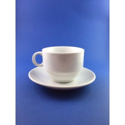 Tazza Da The' In Porcellana Con Piatto Pz.6